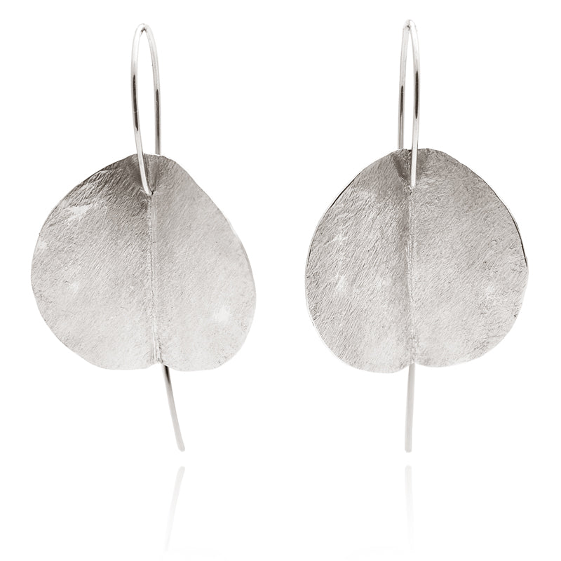 """Eucalyptus"" Earrings - Silver"