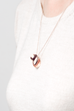 """Infinity"" Oval Pendant (14K Rose Gold-Filled)"