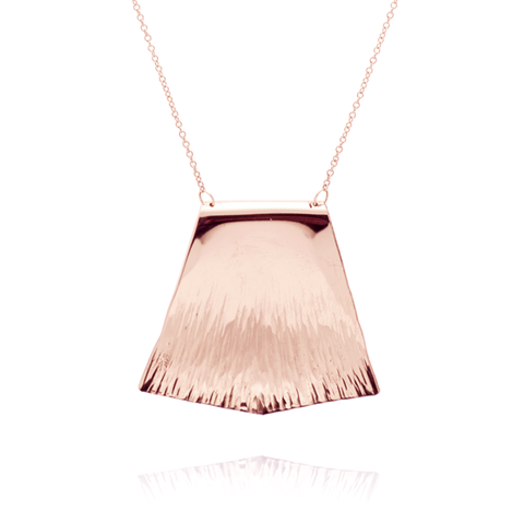 """Courage"" Necklace (14K Rose Gold-Filled)"