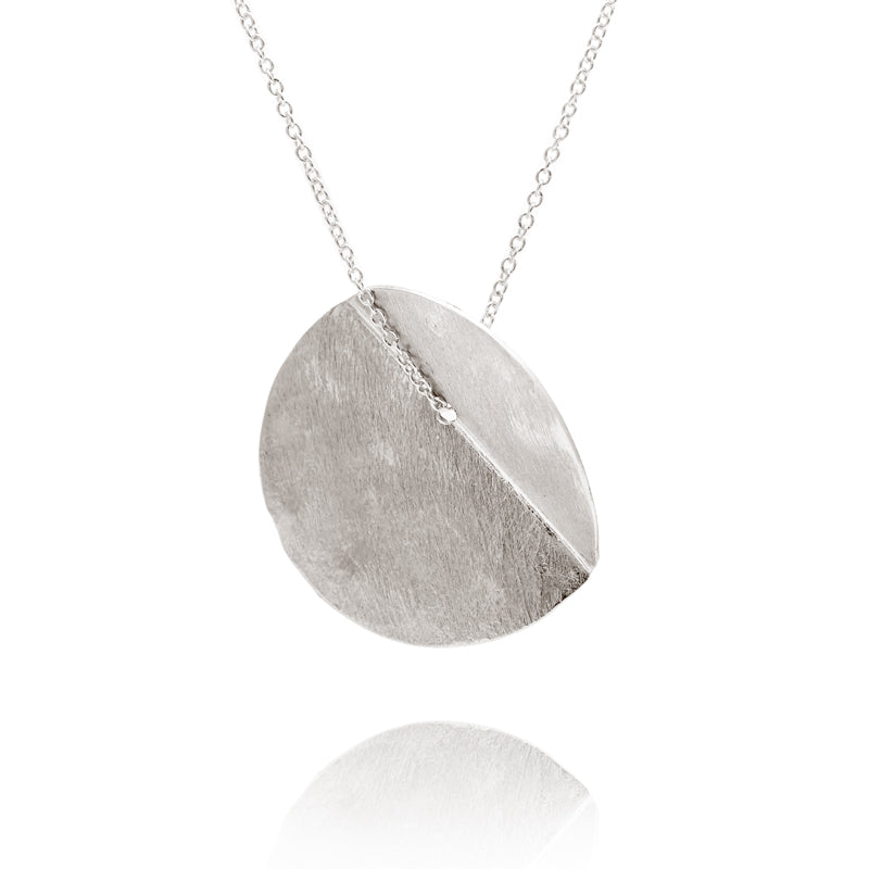 """Eucalyptus"" Single Pendant - Silver"