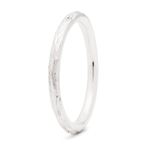 """Willow"" - 2mm Textured Band"