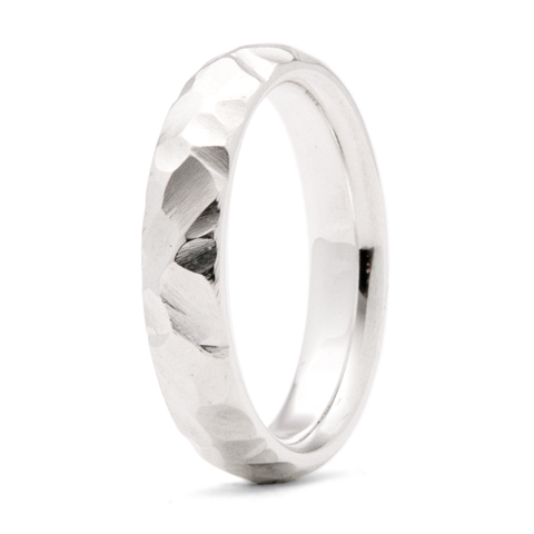 """Mountain Ridge"" - 4mm Comfort-fit Band"