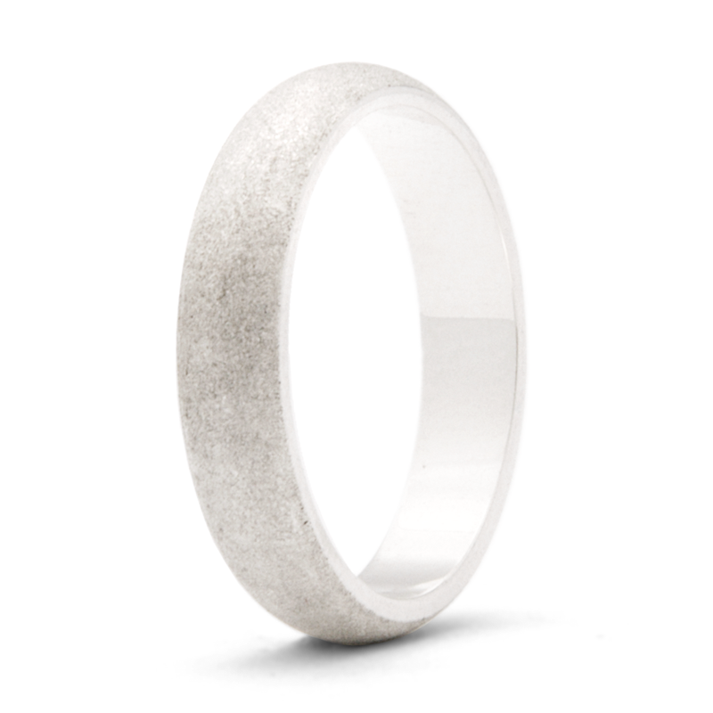 """Sandstone"" - 4mm Textured Band"