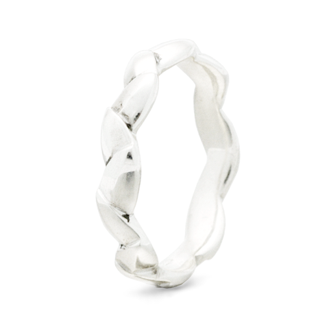 """Lily of the Valley"" - 4mm Comfort-fit Band"