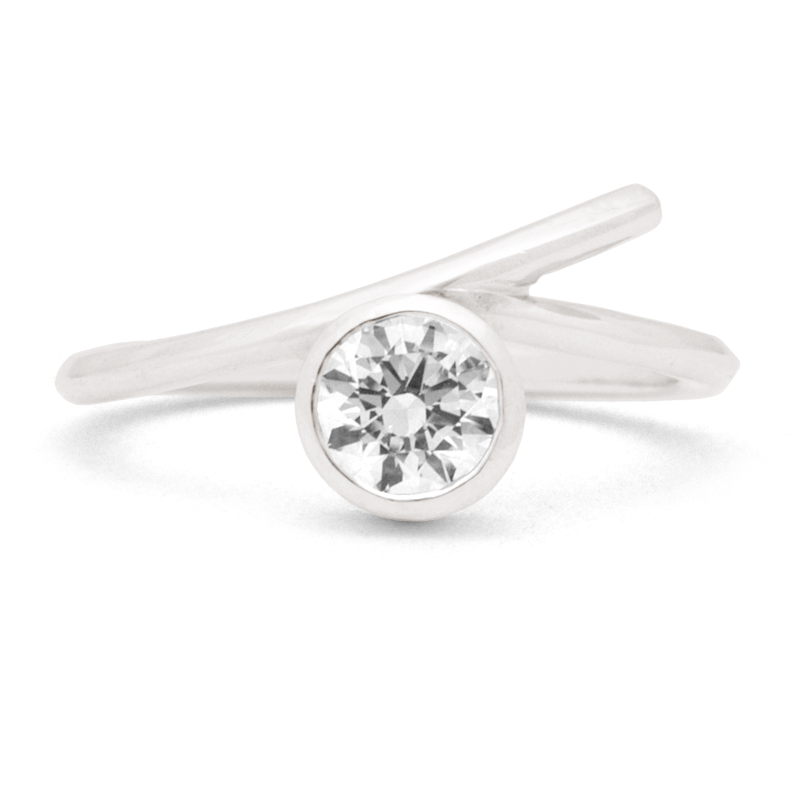 """Twiggy"" - 1/2ct Ring"