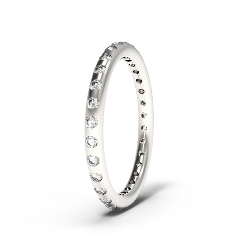 """Rounded"" Eternity Band"