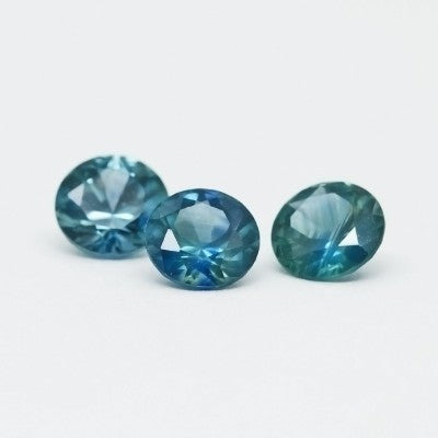 "5.0mm ""Dark Denim"" Montana Sapphires"