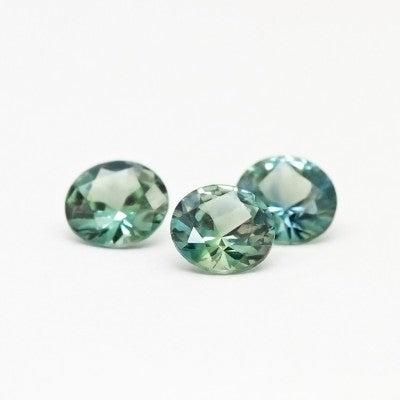 "5.0mm ""Light Teal"" Montana Sapphires"