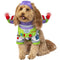 Buzz Lightyear Light Up Toy Story Pet Costume - kostumed