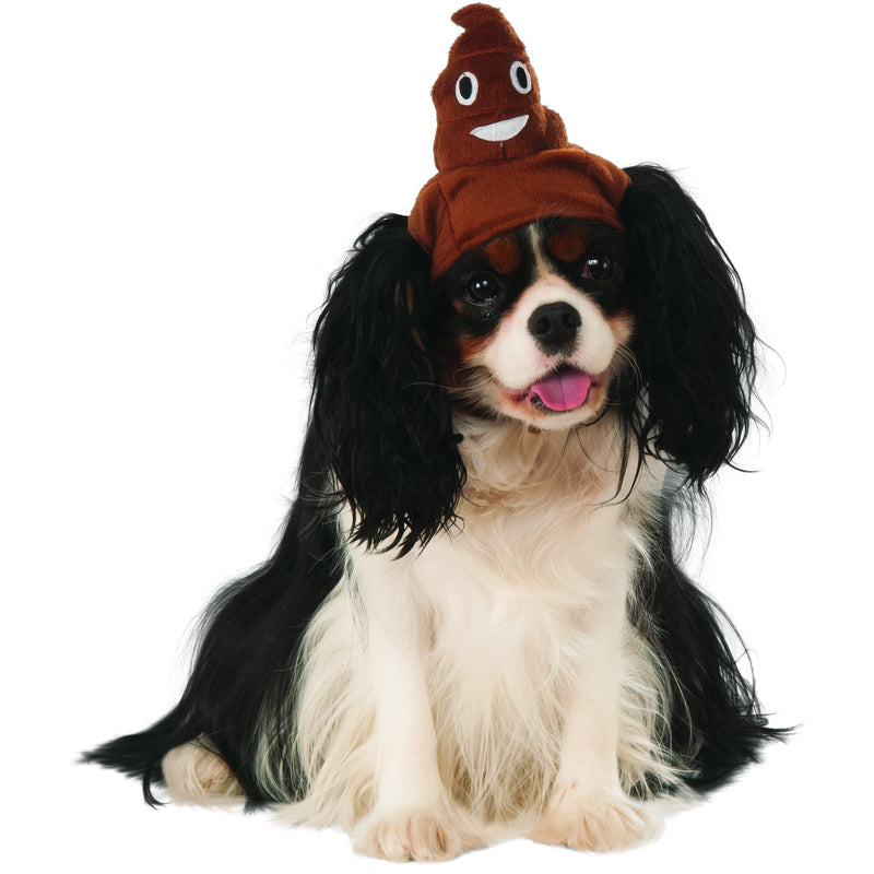 Poop Emoji Pet Hat - kostumed