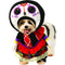 Walking Day Of The Dead Dress Pet Costume - kostumed