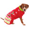 Christmas Bow Ugly Pet Sweater - kostumed