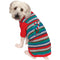 Big Dog Candy Cane Ugly Christmas Pet Sweater - kostumed