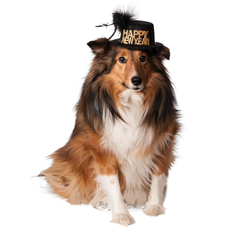 Happy New Year Pet Hat - kostumed