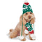 Pom Pom Knit Pet Hat and Scarf Set - kostumed