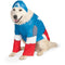 Big Dog Captain America Pet Costume - kostumed