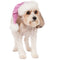 Sequin Pink Santa Pet Hat - kostumed