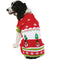 Big Dog Christmas Patterned Ugly Christmas Pet Sweater - kostumed