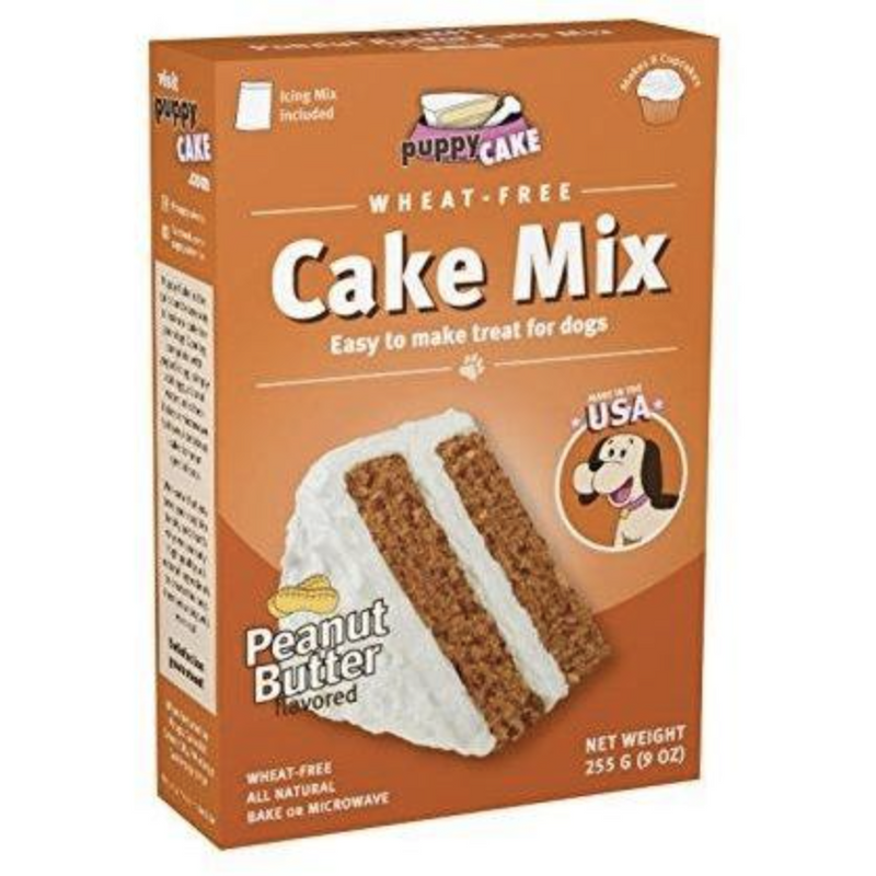 Birthday Dog Cake Mix- Peanut Butter - kostumed