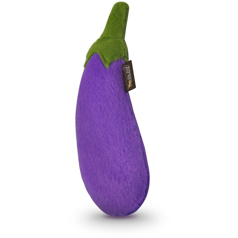 Eggplant Emoji Dog Toy - kostumed