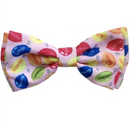 Party Time Pink Birthday Pet Bow Tie - Huxley & Kent - kostumed