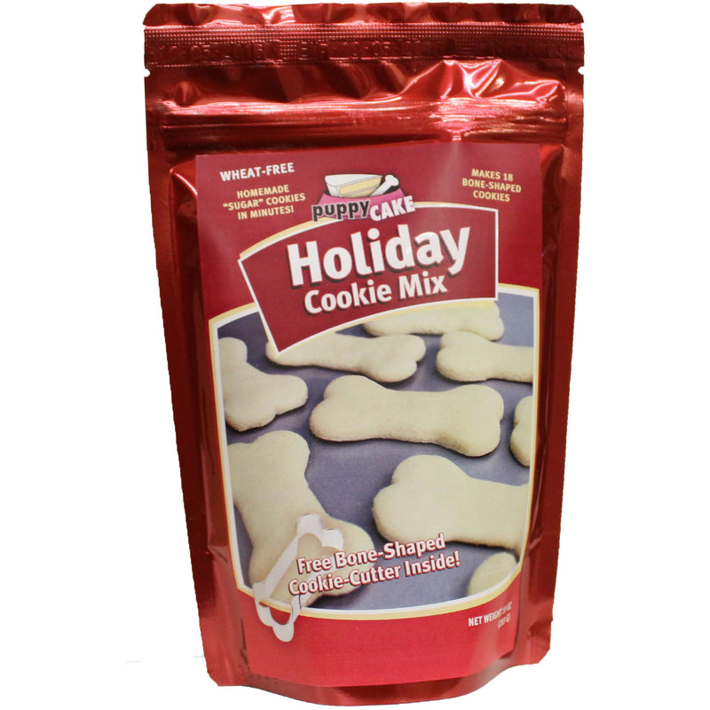 Holiday Cookie Mix with Cookie Cutter - PuppyCake - kostumed