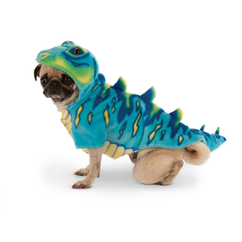 Blue Dino Pet Costume - kostumed
