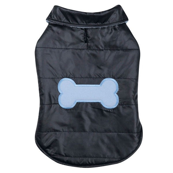 Blue Snow Puff Pet Vest - kostumed