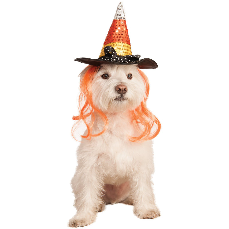 Candy Corn Pet Hat Costume - kostumed