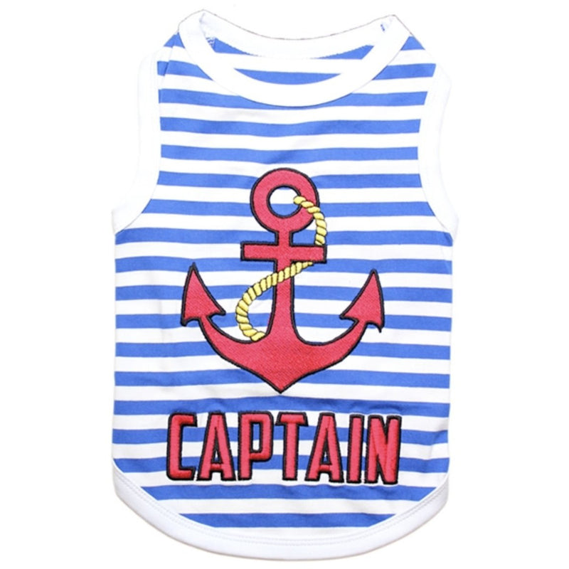 Captain Pet Shirt - kostumed