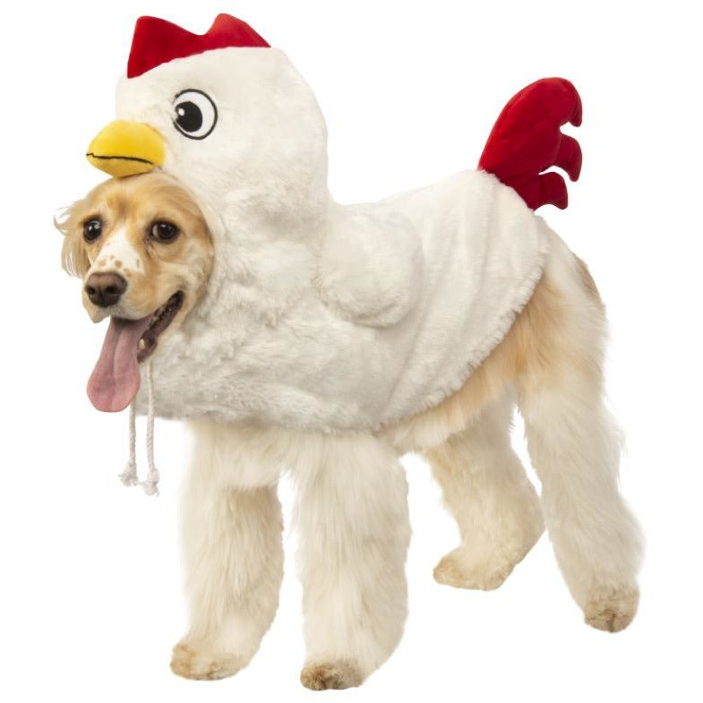 Chicken Pet Costume - kostumed