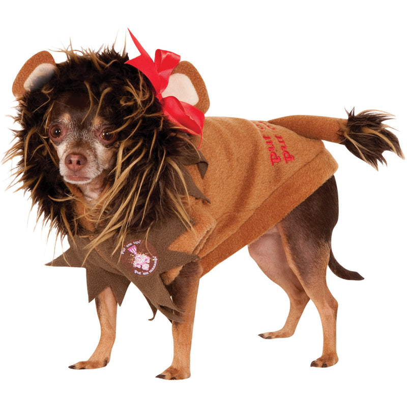 Cowardly Lion Wizard of Oz Pet Costume - kostumed