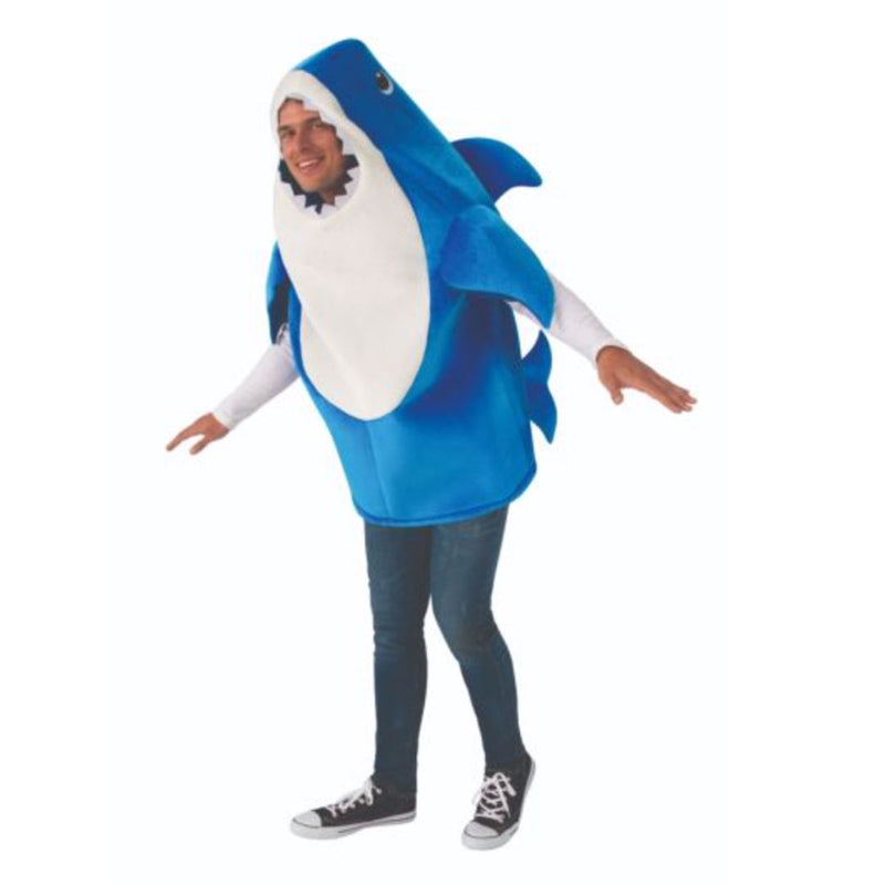 Daddy Shark Baby Shark Adult Costume - kostumed