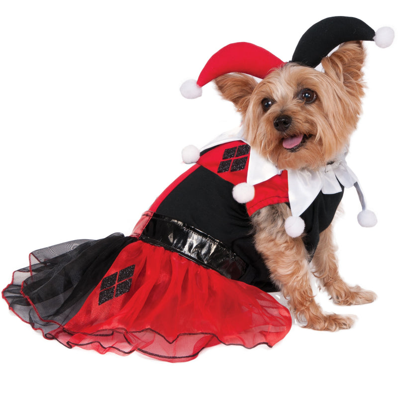 Harley Quinn Tutu Dress Pet Costume - kostumed