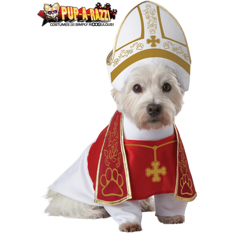 Holy Hound Pope Pet Costume - kostumed