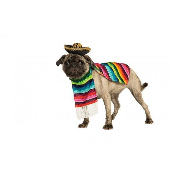 Mexican Serape Pet Costume - kostumed