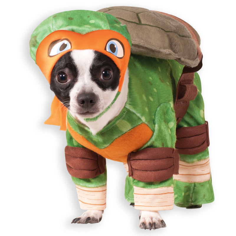 Michelangelo Teenage Mutant Ninja Turtle Pet Costume - kostumed