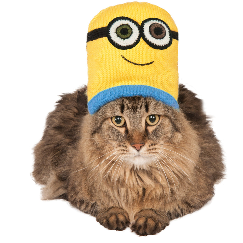 Minion Bob Knit Hat Cat Costume - kostumed