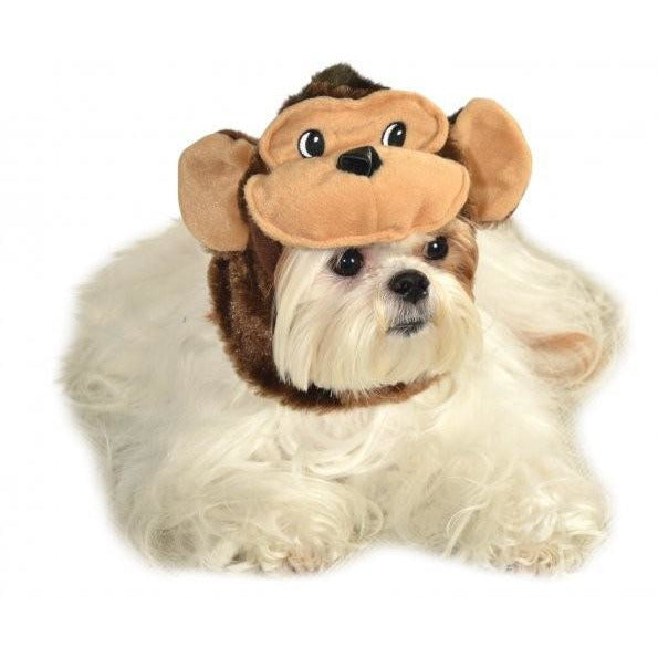 Monkey Headpiece Pet Costume - kostumed