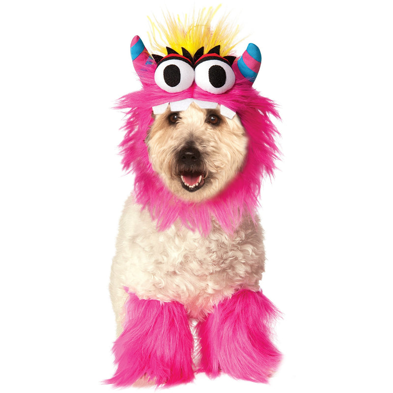 Pink Monster Pet Costume - kostumed