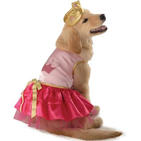 Pink Princess Pet Costume - kostumed