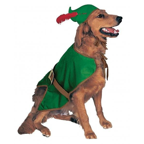 Robin Hood Pet Costume - kostumed