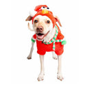 Santa Elmo Christmas Dog Costume - kostumed