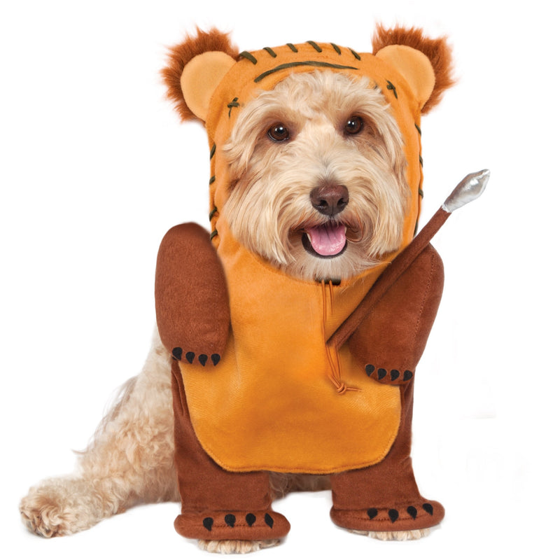 Ewok Star Wars Walking Pet Costume - kostumed
