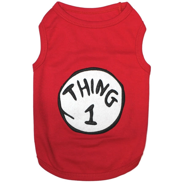 Thing 1 Pet Shirt - kostumed