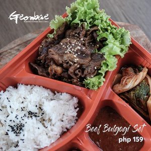 BEEF BULGOGI SET MEAL