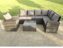 Pollenca Miramar Rattan Garden furniture Corner sofa set