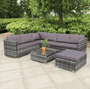Rattan corner sofa garden furniture set - Blakesley's