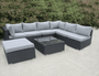 Rattan Corner garden furniture sofa set - Blakesley's