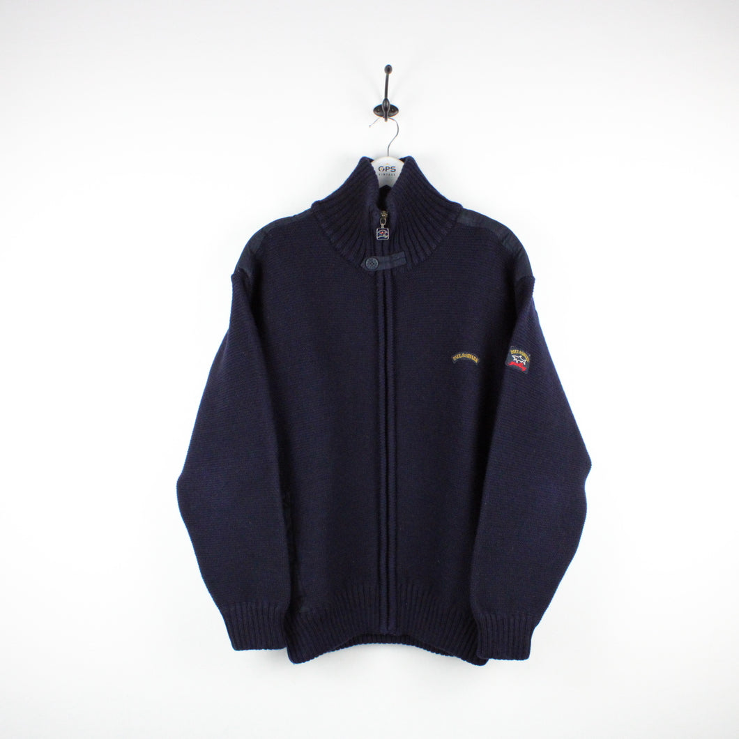 PAUL & SHARK Wool Jacket Navy Blue | Medium